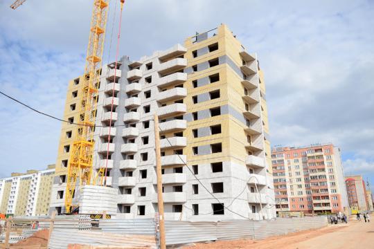 Темпы ввода жилья растут