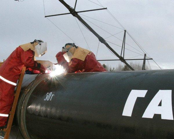 Газ подан во все газопроводы