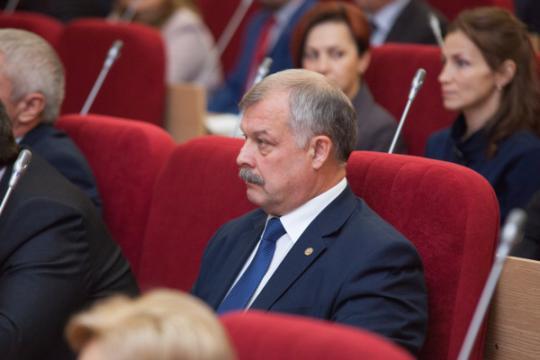 Владимир Быков стал председателем Заксобрания