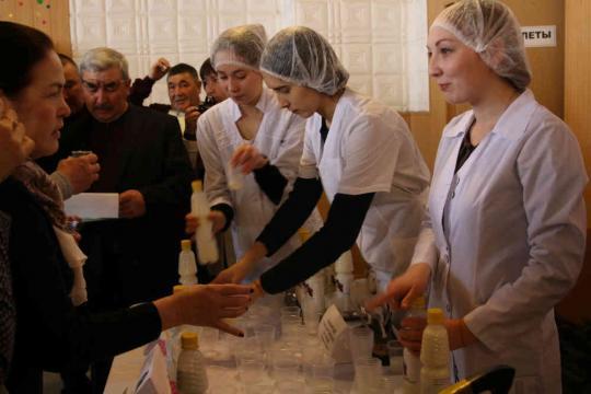 ВБашкирии представили способ пастеризации кобыльего молока
