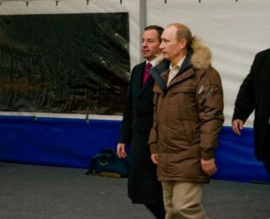 Журналист, задавший вопрос о«Вятском квасе», поблагодарил Владимира Путина запомощь